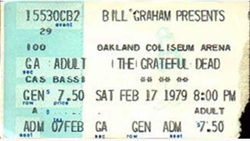On This Day in Grateful Dead History - Keith and Donna's Last Show - Oakland 1979