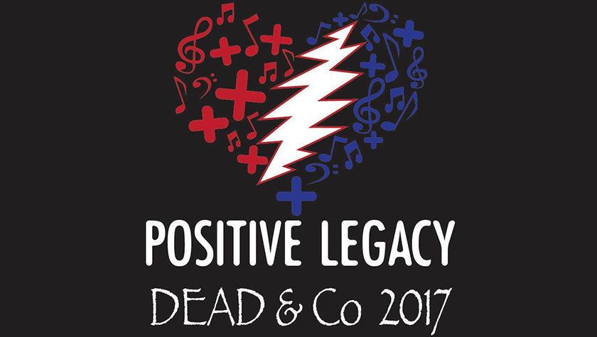 Dead & Company welcomes Positive Legacy ~ Come Join us as we make a difference on tour this summer!