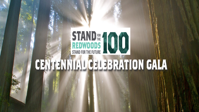 Join us for the party of the century and help save the Redwoods.