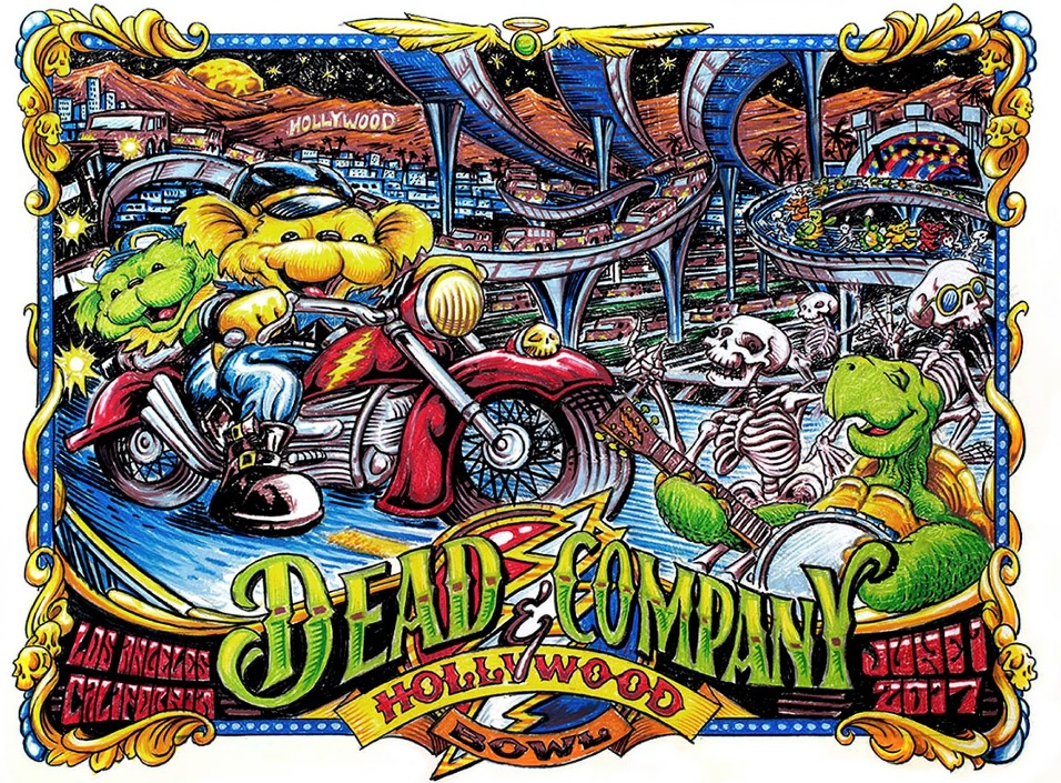 Dead & Company Hollywood Bowl Night One