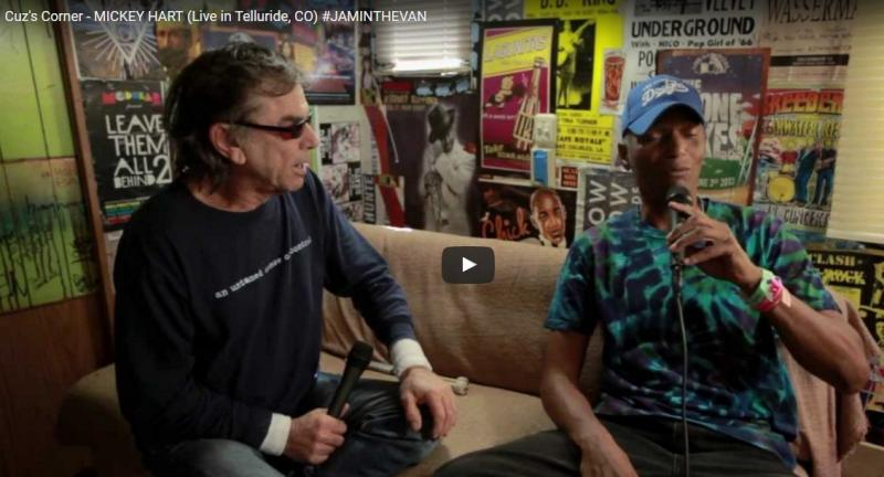Cuz's Corner - Interview with Mickey Hart (Telluride, CO)