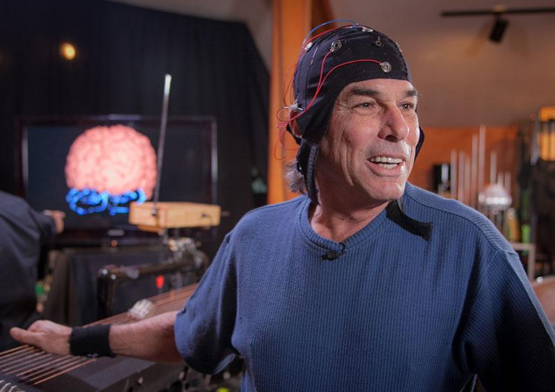 NPR: This is Musician Mickey Hart's Brain on Music