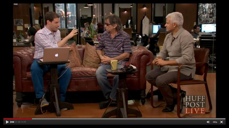 Mickey Hart and Dr. Adam Gazzaley Stop By Huffington Post Live