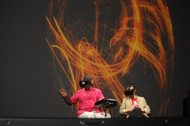 Watch Grateful Dead's Mickey Hart play drums with Oculus Rift — and see how his brain reacts