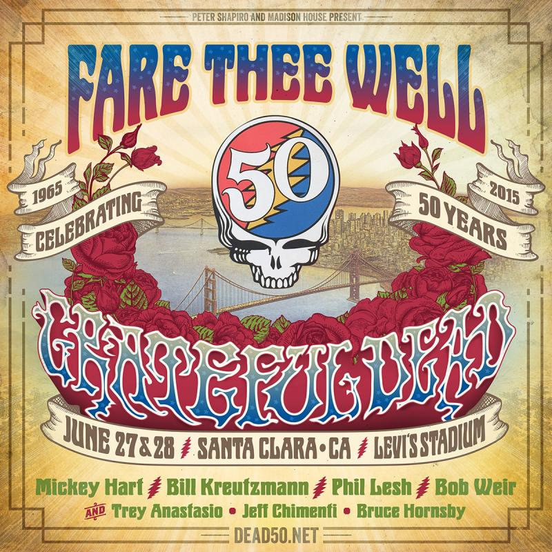 Grateful Dead Original Members Add Two Dates At Levi's Stadium In June
