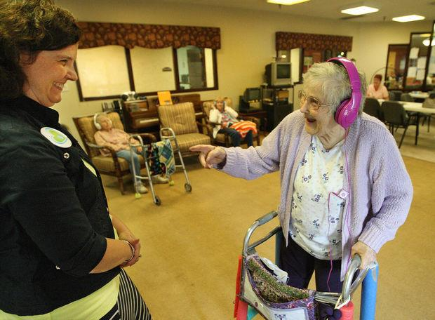 Music jogs memories for Imboden dementia patients.