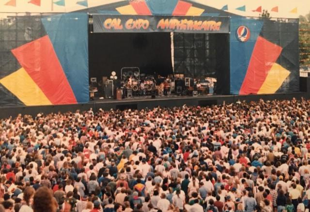 Cal Expo Amphitheater Part of Grateful Dead Anniversary Boxed Set