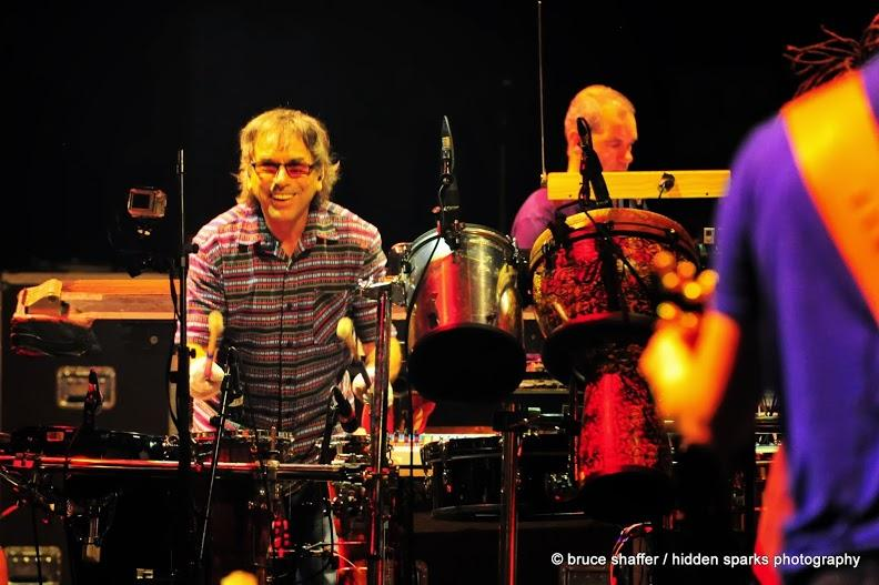 Mickey Hart Band, Mount Scopus Amphitheater, Jerusalem, Israel- 8/22