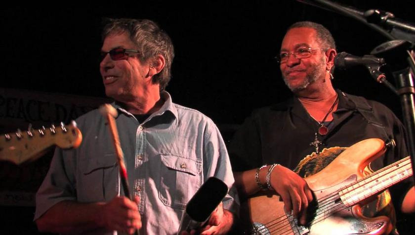 Mickey Hart & Dr. Adam Gazzaley in Congo Square