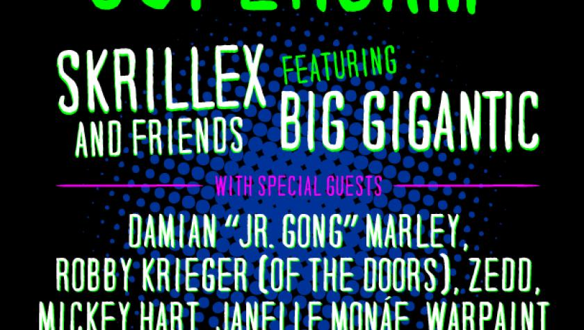 "Mickey to join Skrillex, Big Gigantic, Damian ""Jr. Gong"" Marley for Superjam at Bonnaroo"