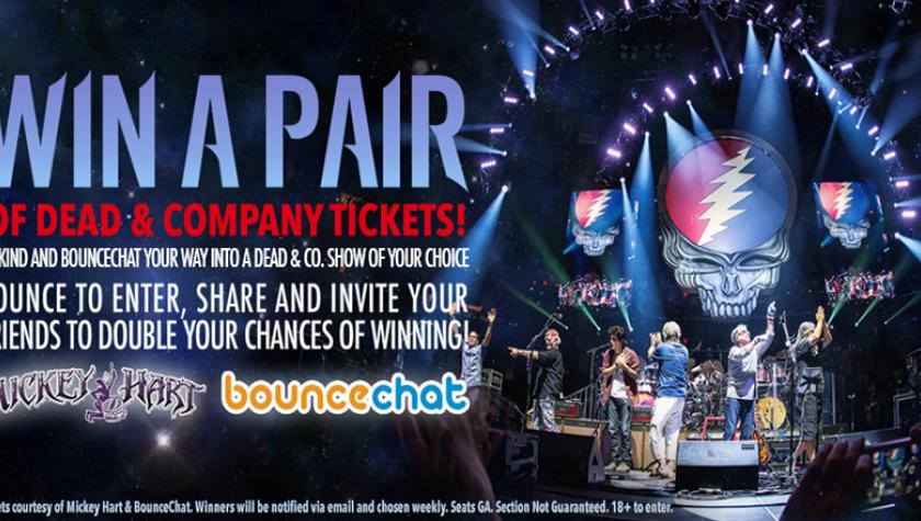Kindness is; Giving away a pair of free tickets every week to a new winner to see any Dead & Company show left on the tour.