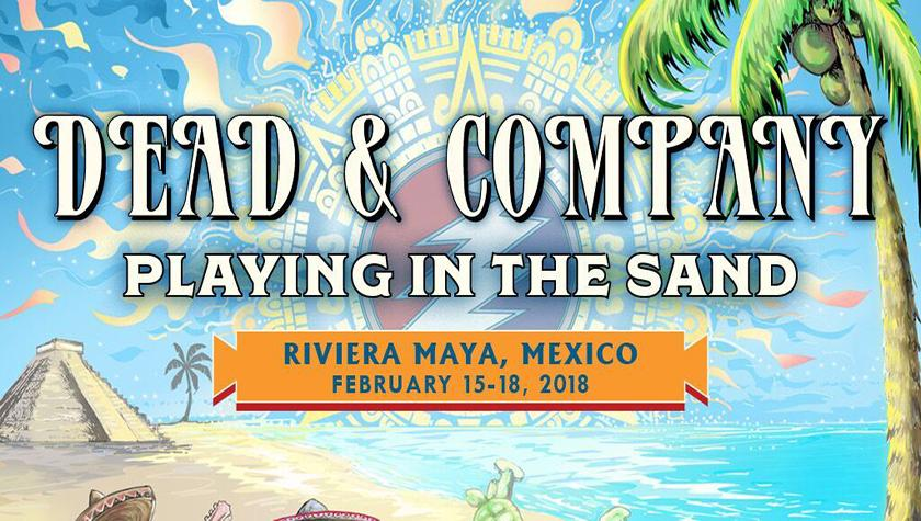 Playing in the Sand with Dead & Company!