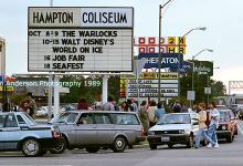 My 'Warlock' Days at the Hampton Coliseum in 1989.