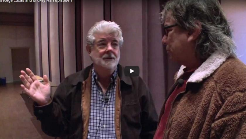 George Lucas and Mickey Hart Episode 1