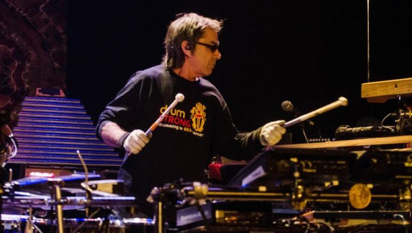 The Mickey Hart Band's Pulsating Rhythmic Beats Keep Storm Clouds Away