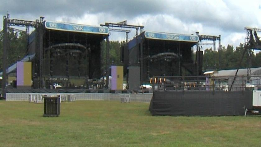 3rd Annual Lockn' Festival Prep Underway in Nelson County